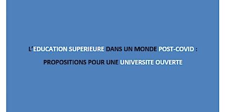 Pour une université ouverte : présentation du troisième livre blanc RGCS billets
