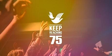 Keep Reaching – 75th Anniversary Virtual Celebration tickets