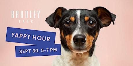 Yappy Hour at Bradley Fair tickets