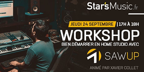 "Workshop ""Bien démarrer en home studio"" 
