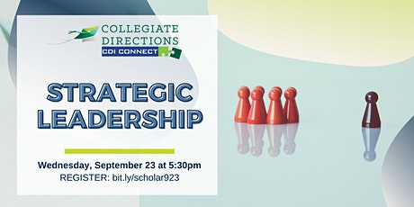 CDI Webinar: Strategic Leadership tickets