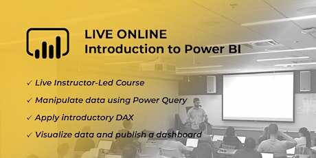 HANDS DOWN THE BEST Introduction to Power BI and DAX - Virtual 2 Day tickets