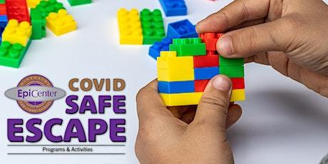 Covid Safe Escape: LEGO Builder's Club Series tickets
