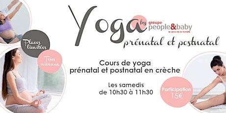 Yoga prénatal en crèche - Boulogne billets