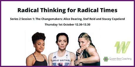 "QBC: Radical Thinking for Radical Times S2 Ep1 ""The Changemakers"" tickets"