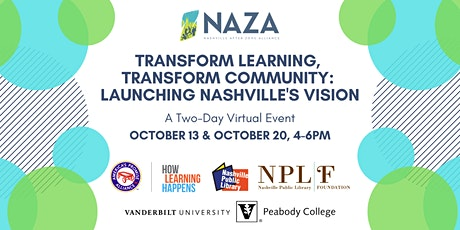Transform Learning, Transform Community: Launching Nashville's Vision tickets