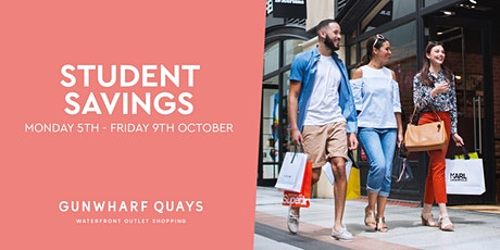 Student Savings at Gunwharf Quays tickets