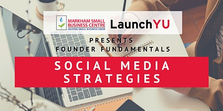 Founder Fundamentals: Social Media Strategies tickets
