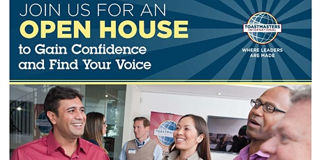 RDU Toastmasters Online OPEN HOUSE tickets
