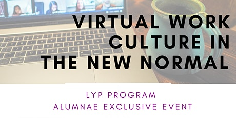Virtual Work Culture in the New Normal tickets