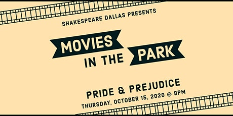 Outdoor Movies in the Park: Pride and Prejudice tickets