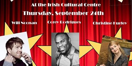 Comedy Night with Will Noonan, Corey Rodrigues & Christine Hurley tickets