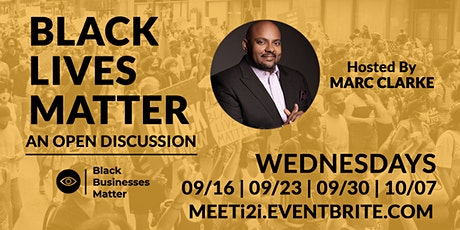 Black Lives Matter tickets