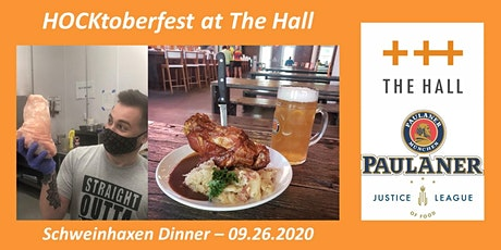 Schweinhaxen Dinner at The Hall tickets