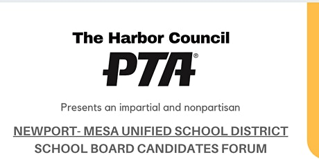 Harbor Council PTA Candidate Forum tickets
