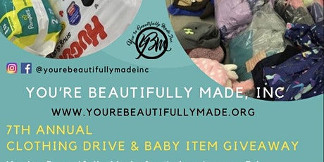 FREE 7th Annual Clothing Drive & Baby Item Give Away tickets