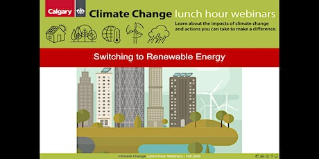 Switching to renewable energy at home and at work tickets