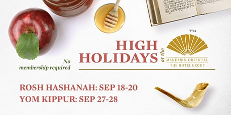 High Holidays at the Mandarin's  Garden tickets