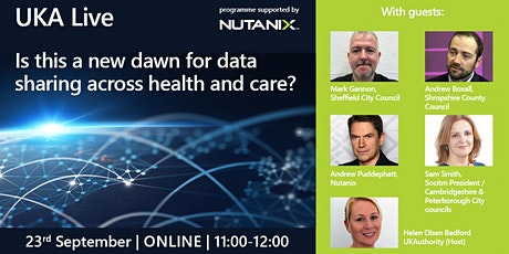 UKA Live: Is this a new dawn for data sharing across health and care? tickets