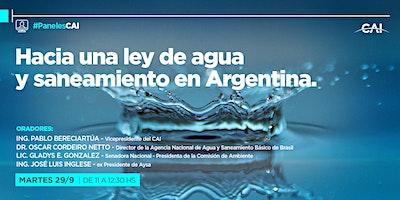 #PanelesCAI Hacia una ley de agua y saneamiento en Argentina