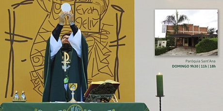 Missa, Dom 20/9 - 18h - Paróquia Sant'Ana ingressos
