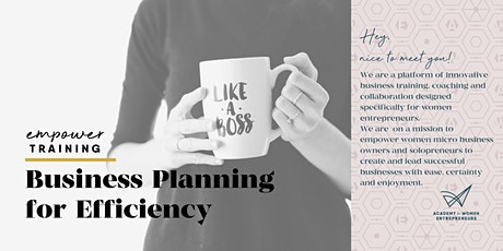 Business Planning to gain efficiency – Q4 planning session tickets