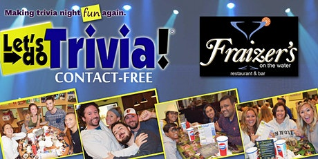 Let's Do Trivia! at Fraizer's - DOVER - Contact-Free! tickets