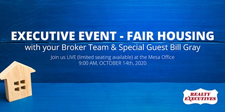 Executive Event - Fair Housing tickets
