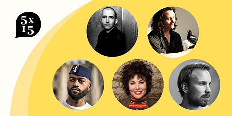 5x15 with Ruby Wax, Rutger Bregman and Alex Ross tickets