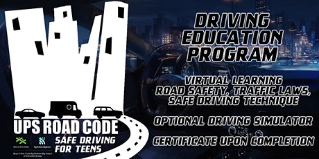 Road Code Driving Program Registration tickets