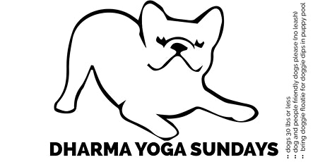 Yappy Yoga Sundays with Dharma at Pineapple Yoga Outdoor Studio tickets
