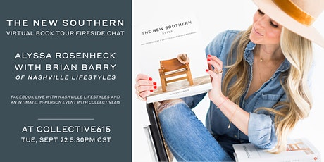 The New Southern by Alyssa Rosenheck: In-Person + Virtual Book Tour tickets