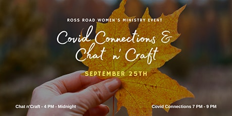 Covid Connections & Chat n'Craft tickets