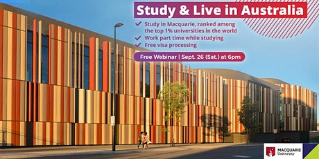 How to study, work, and live in Australia (Free Webinar) tickets
