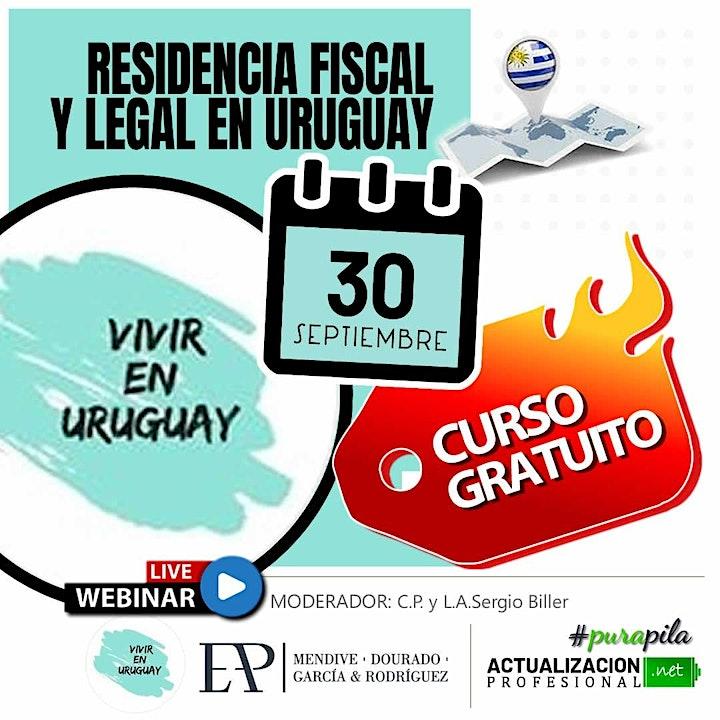 Imagen de RESIDENCIA FISCAL Y LEGAL EN URUGUAY