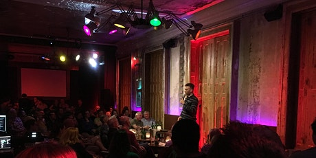 English Stand-up Comedy Open Mic Tickets