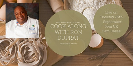 Cook Along With The Stars with Ron Duprat tickets