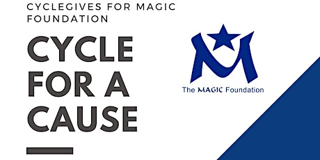 CycleGives for Magic Foundation tickets