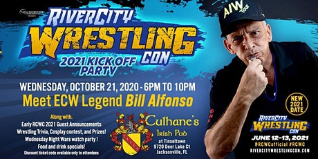 River City Wrestling Con 2021 Kickoff Party tickets