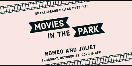 Outdoor Movies in the Park: Romeo and Juliet tickets