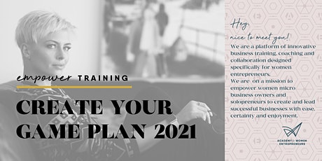 Create your Game Plan for 2021 tickets