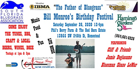 """Celebrate """"The Father of Bluegrass"""" @ Bill Monroe's Birthday Festival tickets"""