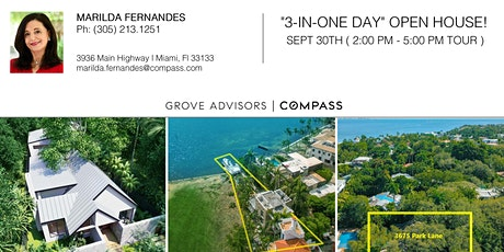"""""""3-IN-ONE DAY"""" OPEN HOUSE EVENT ! tickets"""