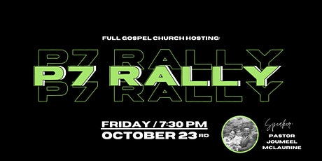 Project 7 Rally tickets