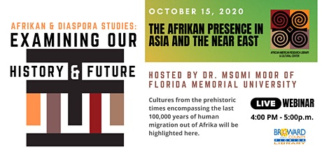 Afrikan Diaspora Studies : Examining Our History & Future - Asia/East tickets