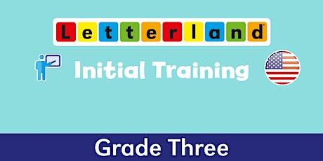 Letterland Initial Grade 3 Virtual Training [  1337 ] tickets