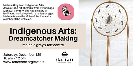 Indigenous Arts: Dreamcatcher Making tickets