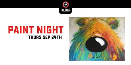 Paint Night @ Big Rock Brewery - Liberty Commons tickets
