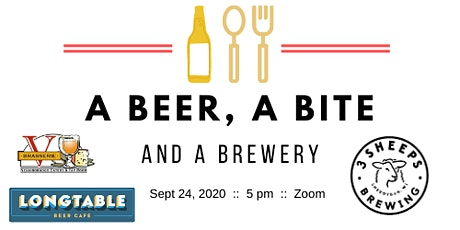 A Beer, A Bite and A Brewery - 3 Sheeps Brewing Company tickets