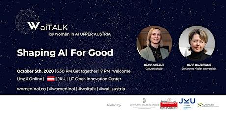 "WaiTalk ""Shaping AI For Good"" tickets"